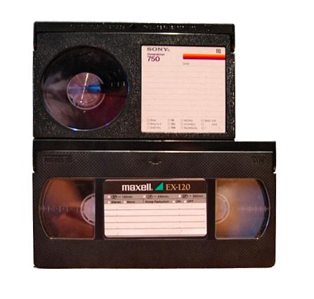 14. Betamax(in alto) + VHS (in basso) .p