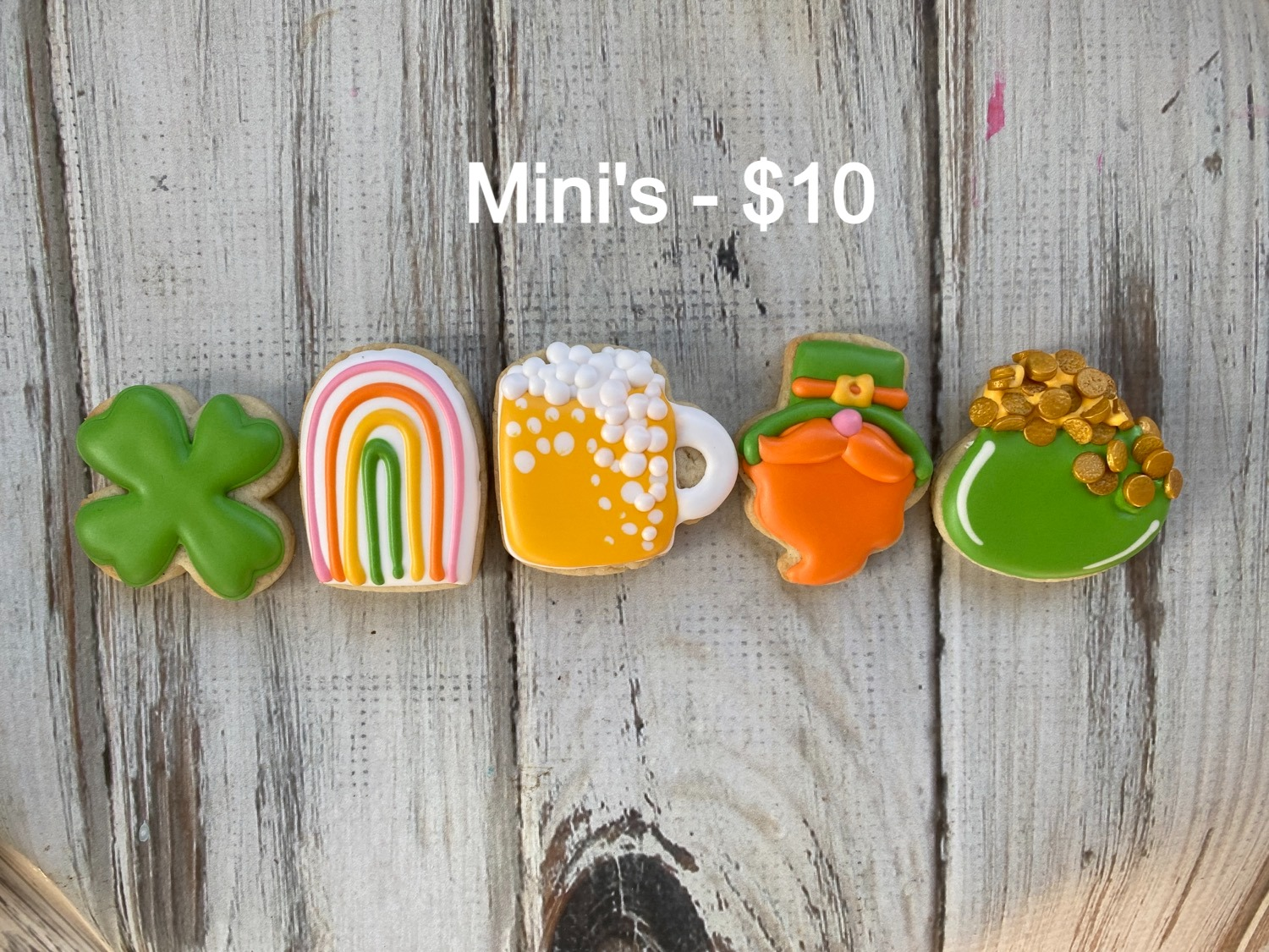 St Patrick's Day Minis
