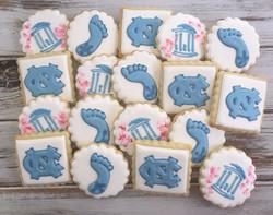 UNC grad cookies