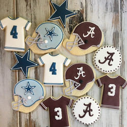 Football Fan cookies