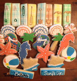 Beach Inspired Cookies