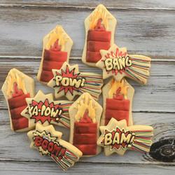 Boom explosion cookies