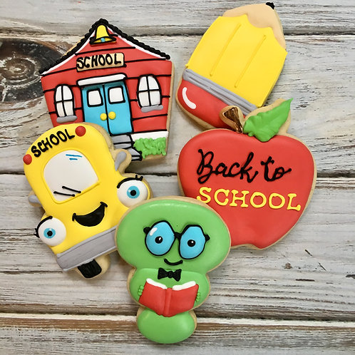 Cookie Decorating 101 (Back to School) - August 14th, 2-4pm