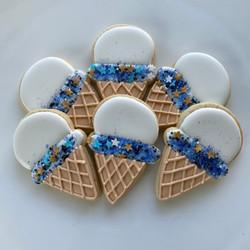 Ice Cream decorated cookies
