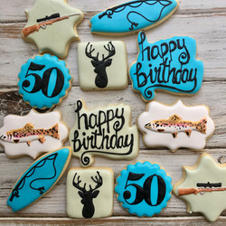 Fishing & Hunting Birthday