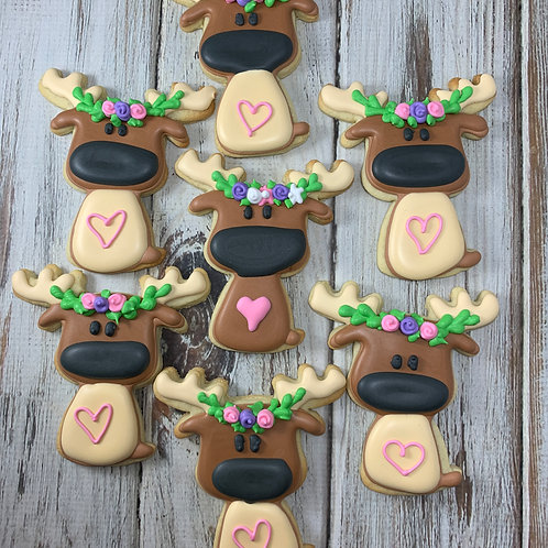 Cookie Decorating 101 - Woodland Animals, September 18th, 2-4pm