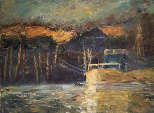 Barns and Boat