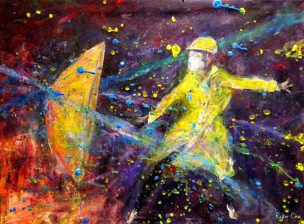 黃傘 - Yellow Umbrella