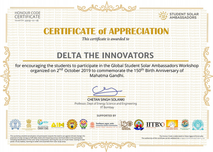 Delta The Innovators GGSY Certificate.jp