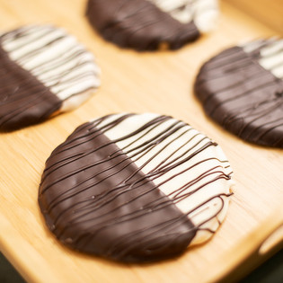 Double Dipped Shortbread Cookie