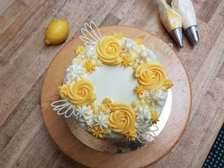 Lemon White Chocolate Cake