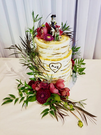 Birtch Custom Wedding Cake