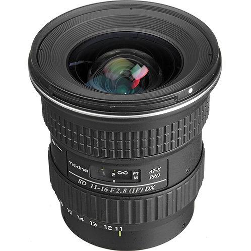 Lente Tokina 11-16mm