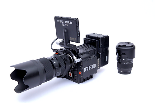 Red Epic / Lentes Sigma