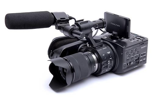 Sony FS100 / Canon 24-70