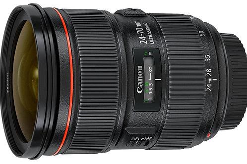 Lente Canon 24-70mm serie II