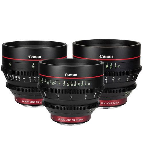 Lente Canon Cine Prime