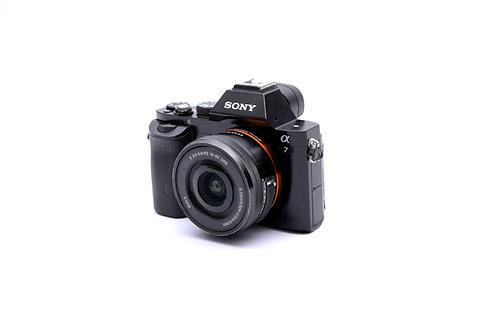 Sony A7 Con Lente