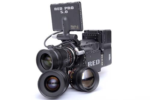 Red Epic / Lentes Rokinon Cine