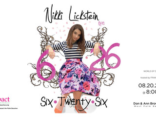 Congratulations to South Florida Singing Lessons Student Nikki Lickstein on her upcoming EP Launch!