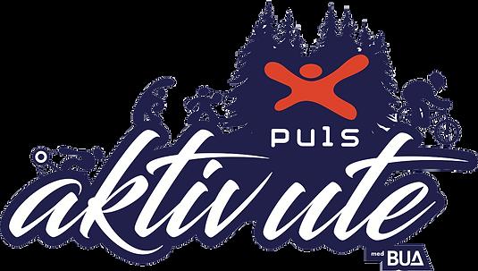Puls Aktiv Ute Logo Med Outline-illustra
