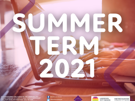 Summer term 2021 has landed!