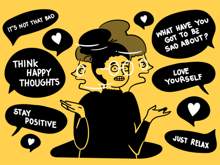 Toxic Positivity and Why it's Bad for your Health