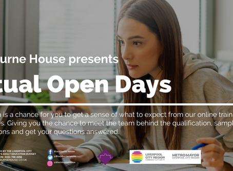 Virtual Open Days 2020