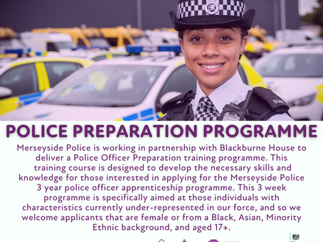 Applications for the Police Preparation Programme are now open!