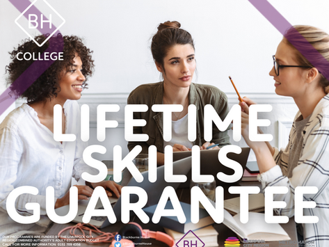 Get Set with the Lifetime Skills Guarantee