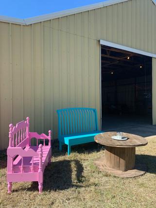 Party Barn Sitting