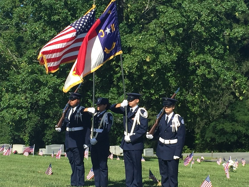 Color Guard Memorial Day May 29th 2017