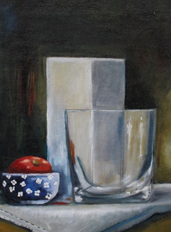 Vases with Apple