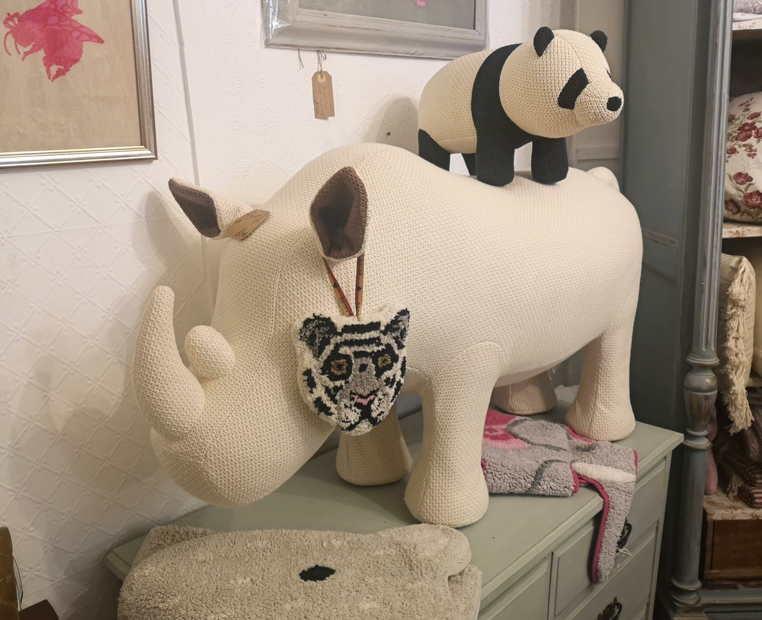 fabric rhino