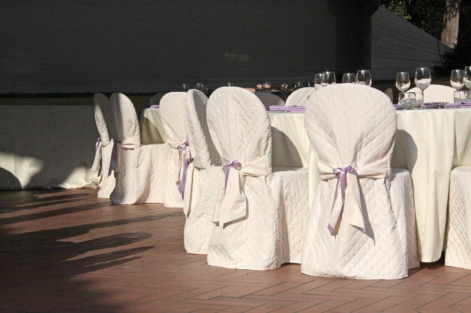 Awesome sedie vestite da spose with sedie vestite - Coprisedia in tessuto ikea ...