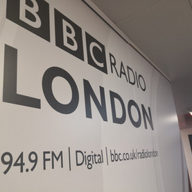 A visit to BBC Radio London