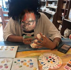 Arts and crafts at SDA Care