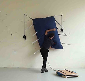 Octave Courtin, Grande Cornemuse, performance sonore, Ateliers du vent.
