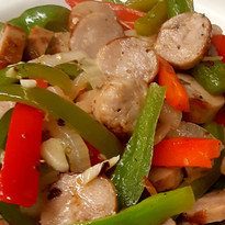 Chicken sausage, onions peppers.jpg