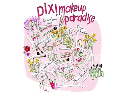 Pixi Makeup Maps