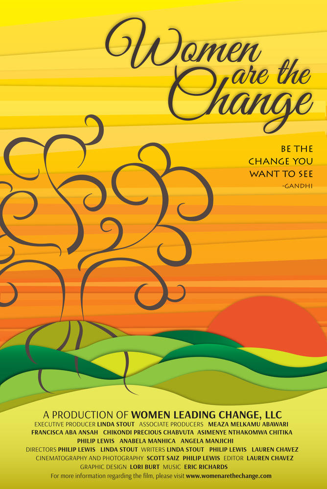 Women are the Change Poster