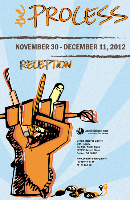 Student Art Exhibit Poster