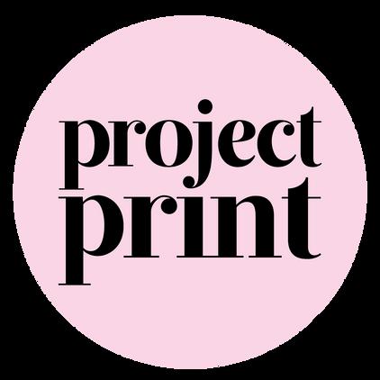 Project Print Logo