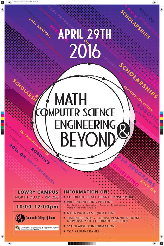 Math Week Poster