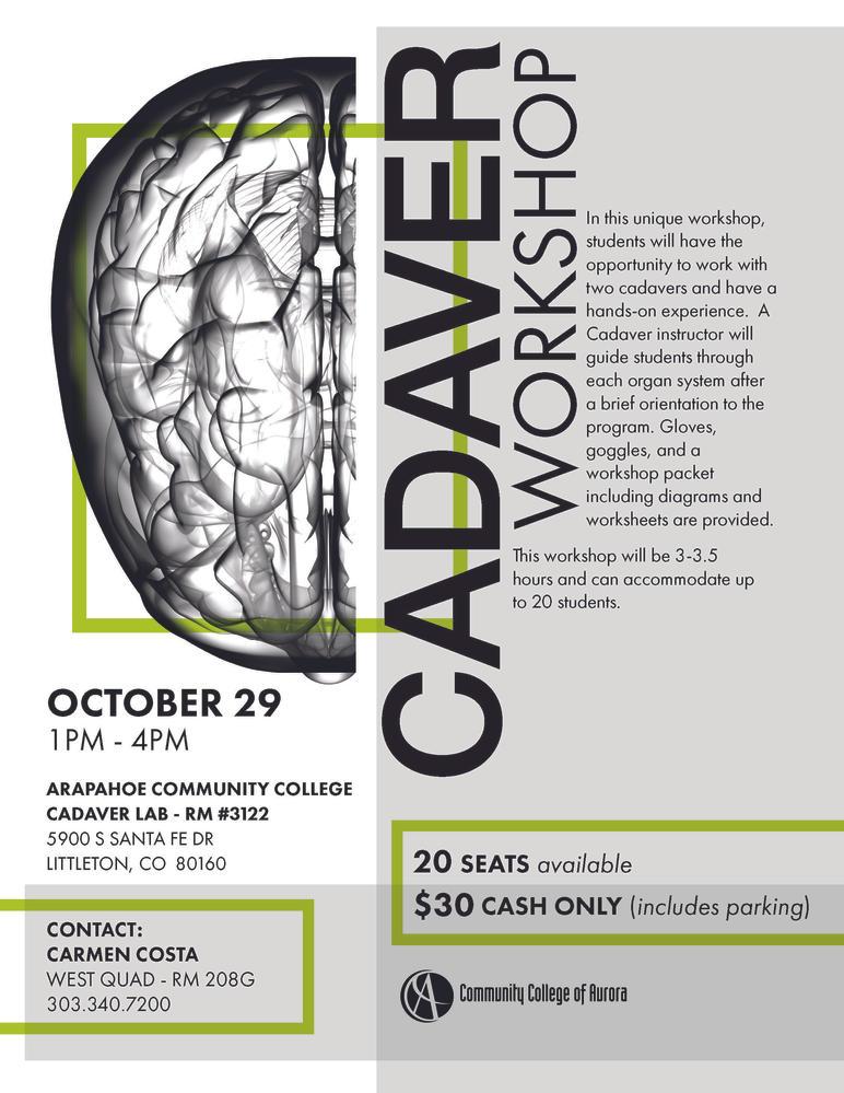 Cadaver Workshop
