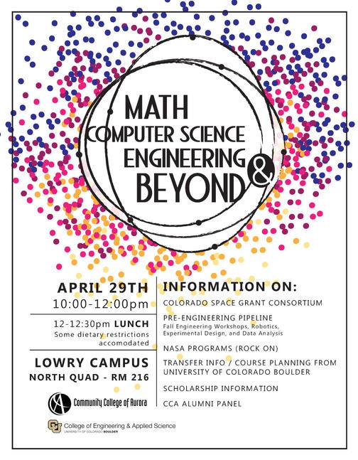 Abbreviated Math Week Poster
