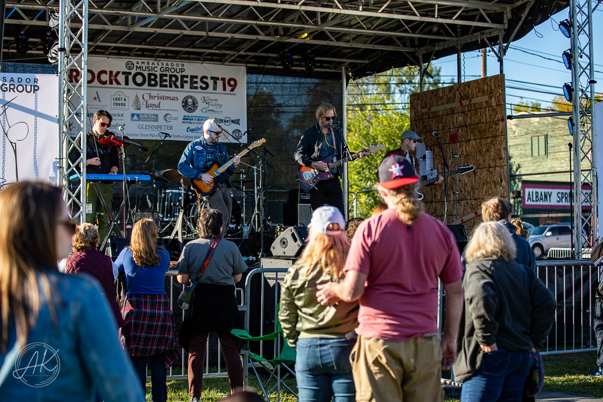 C.K. & The Rising Tide at Rocktoberfest Albany NY