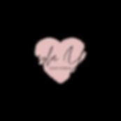Kayla Young lightworker - logo pink hear