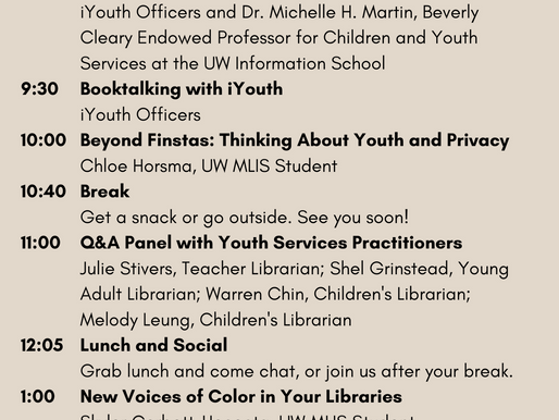 2021 Spring Youth Librarianship Conference
