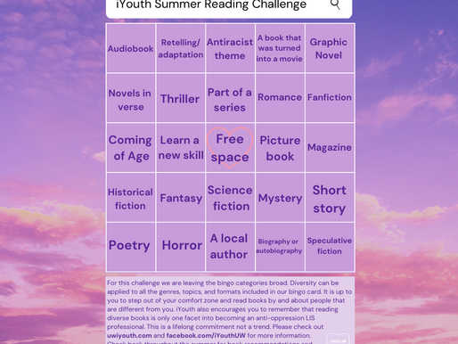 iYouth Summer Reading Challenge 2020